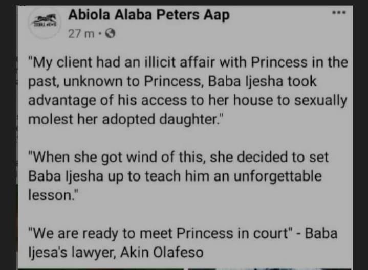illicit affair princess baba Ijesha