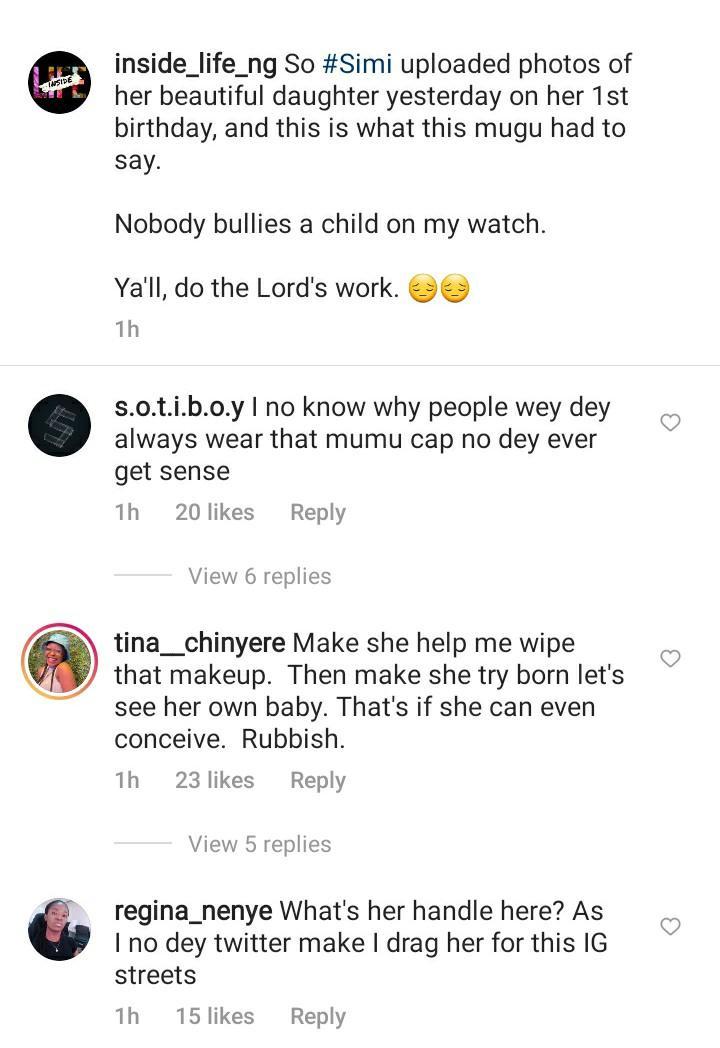 Simi child bullied