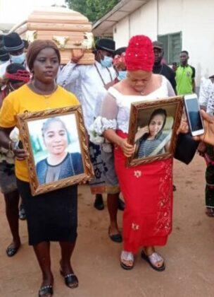 Late comedienne, Ada Jesus finally laid to rest (Photos)