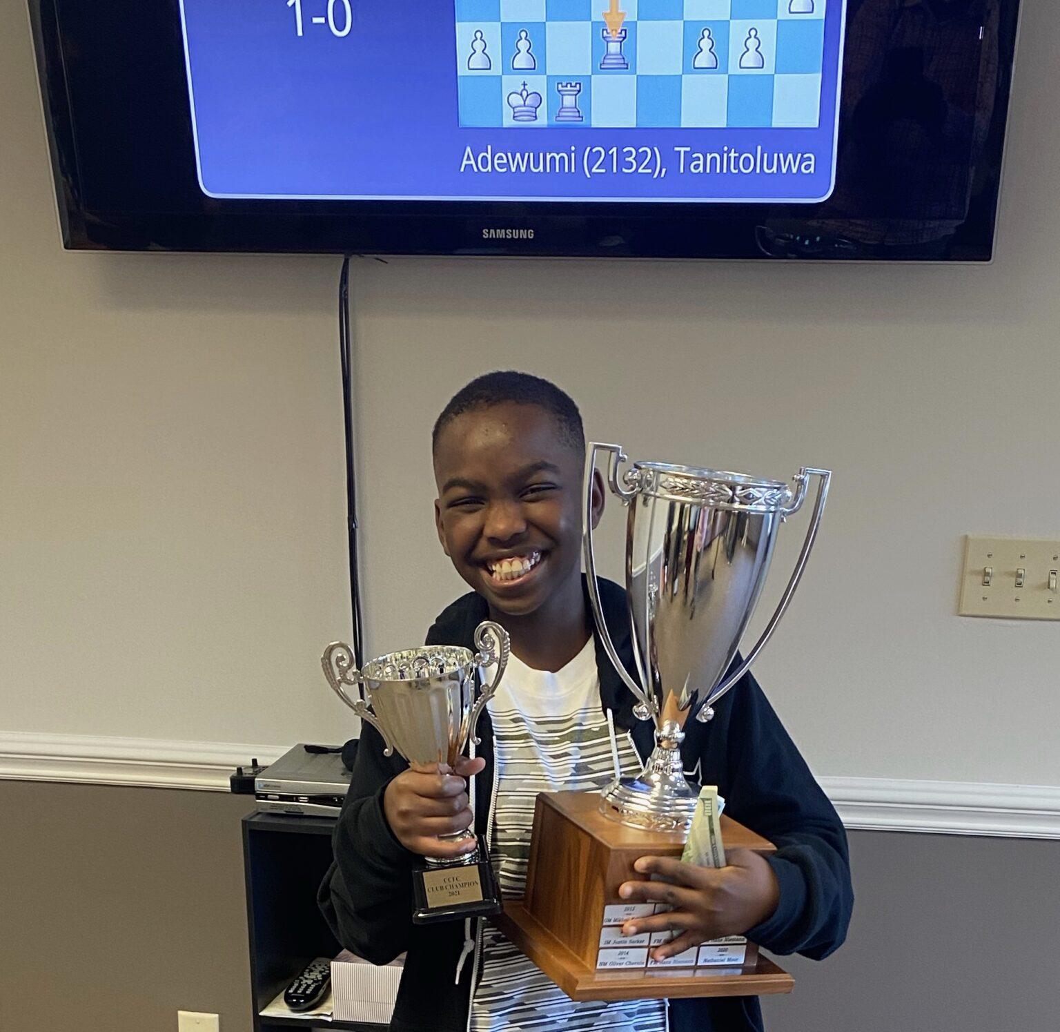 Tani Adewumi chess master