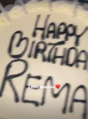 Rema celebrates 21st birthday with American singer, Justine Skye (Video)