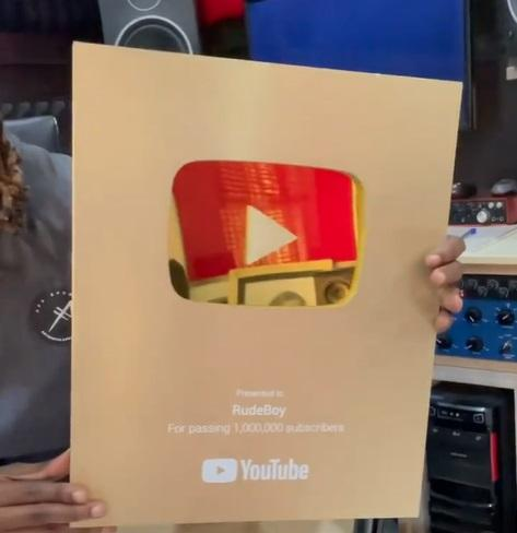 Paul Okoye gets Gold certification from YouTube for hitting over 1M subscribers (Video)