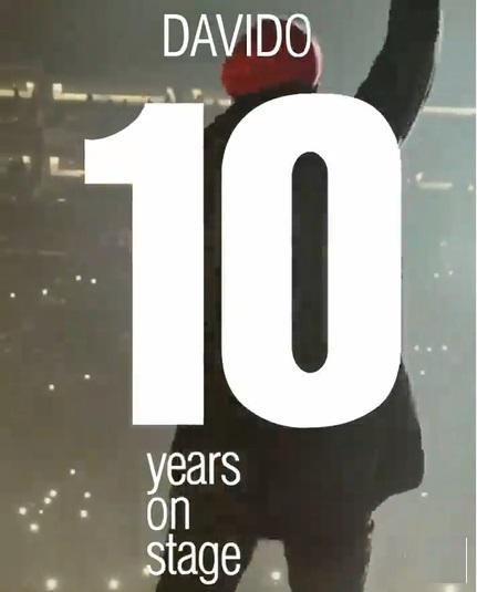 Davido celebrates 10 years on stage with the theme '30 Billion Experience' (Video)