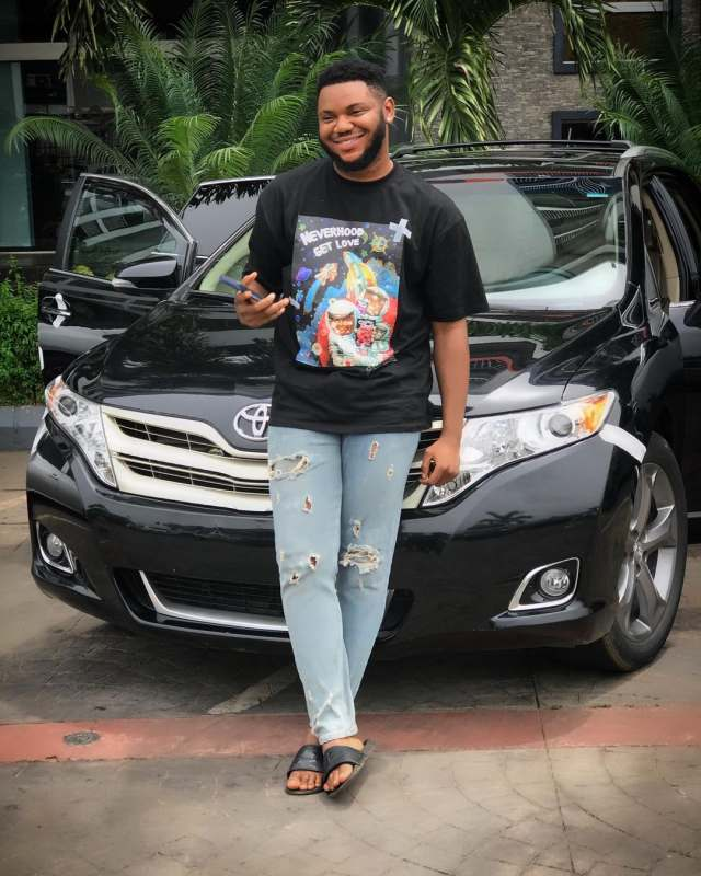 Actor, Somadina Adinma gifts himself a new car ahead of birthday