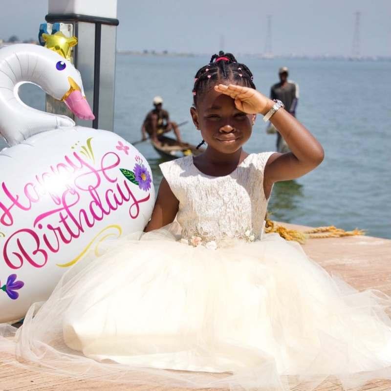 Davido celebrates his firstborn, Imade as she marks her 6th birthday