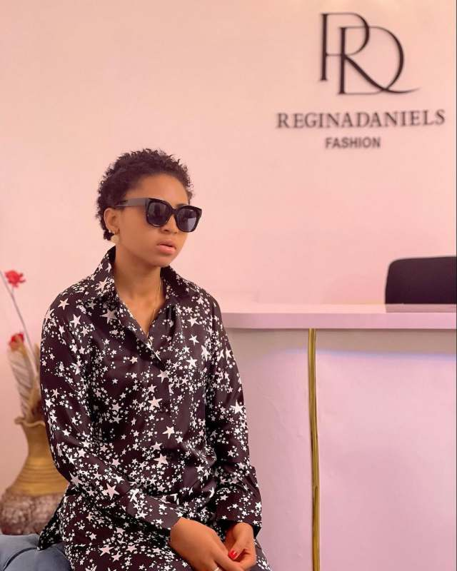 Regina Daniels reveals reasons for going into fashion business, hints at starting reality show (Video)