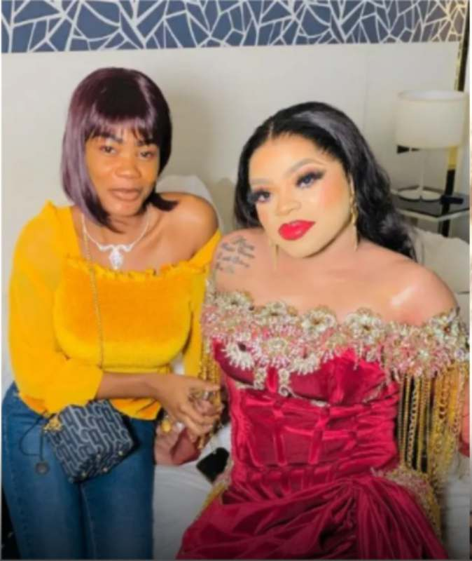 """""""Wicked manipulator"""" - Ivorian lady that tattooed Bobrisky calls him out for beating her (Video)"""
