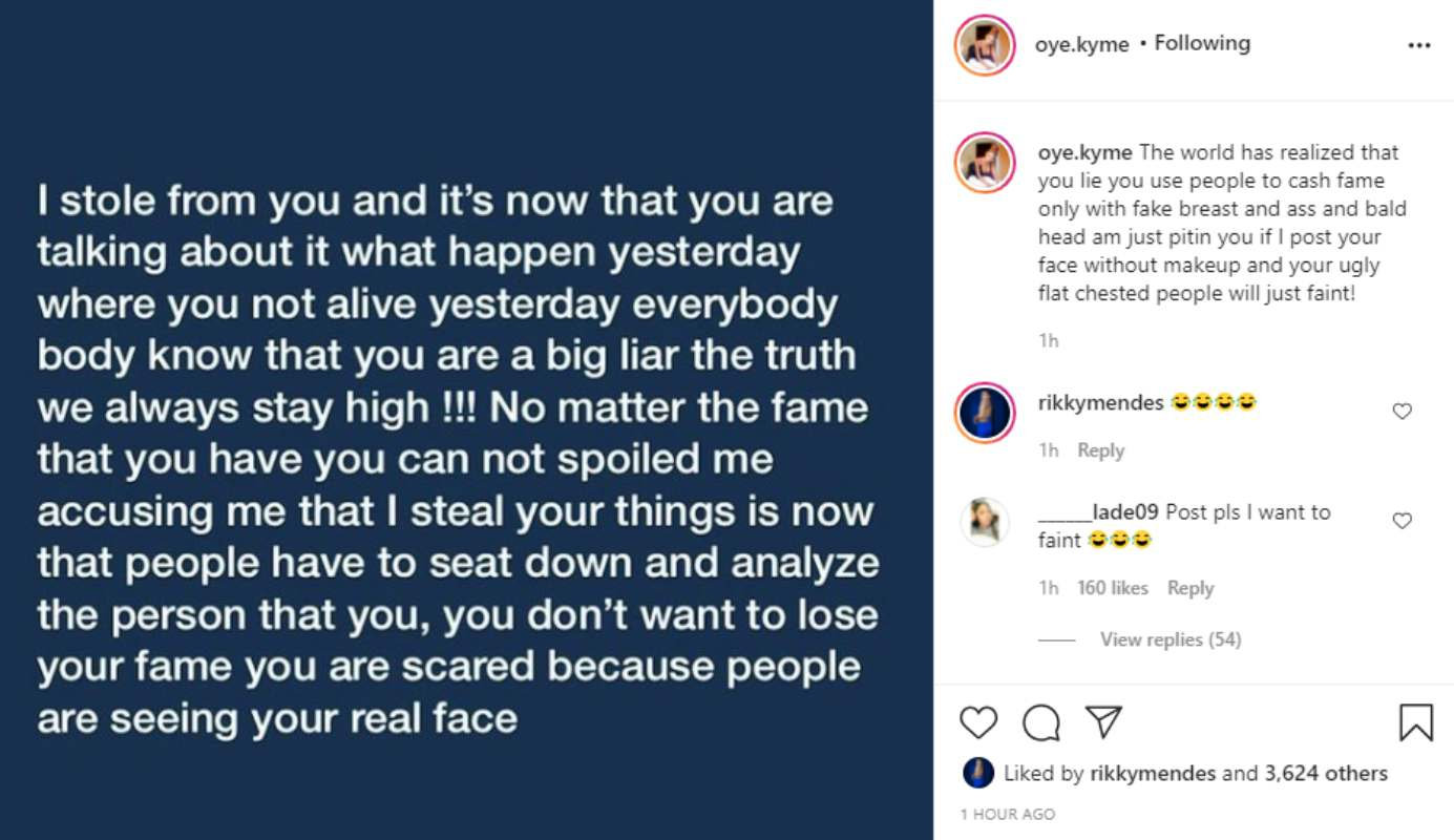 """""""People will faint if i post your bald head & face without makeup"""" - Ivorian lady slams Bobrisky"""
