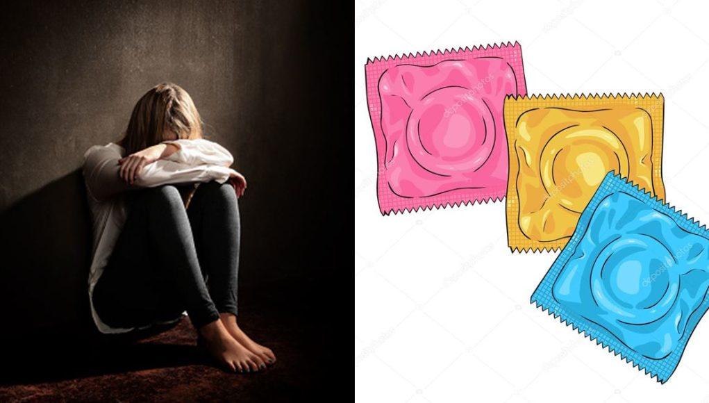 LAdy Condom Pack Boyfriend Cheating