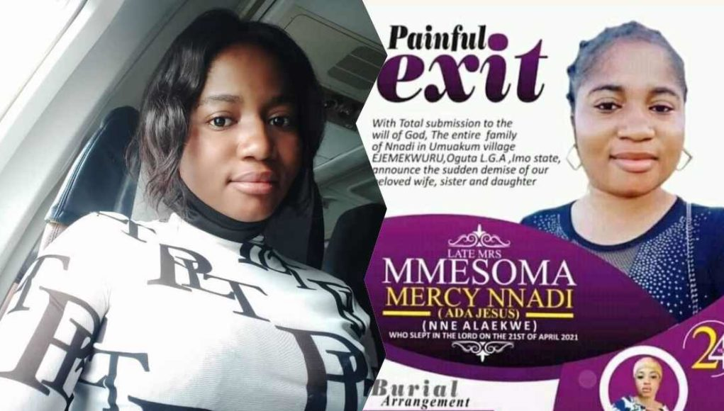 Obituary of deceased comedienne, Ada Jesus, released by her family (Photo)