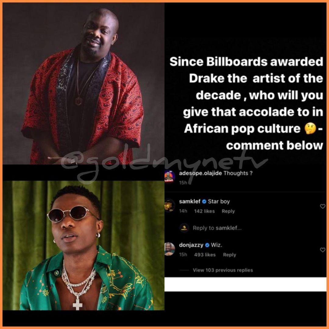 Wizkid is African Artist Of The Decade – Mavins Record boss, Don Jazzy declares