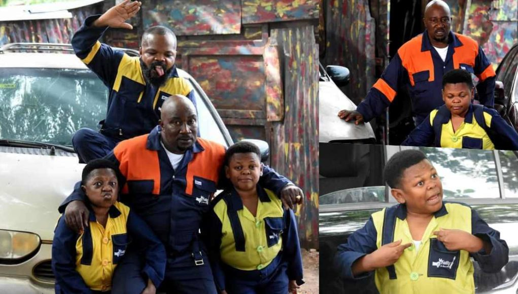 Aki and Pawpaw announce new series, Fatty and Son's Auto (Video)