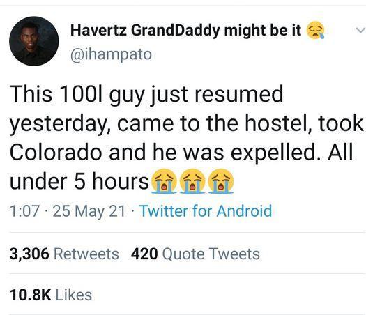Colorado expelled school