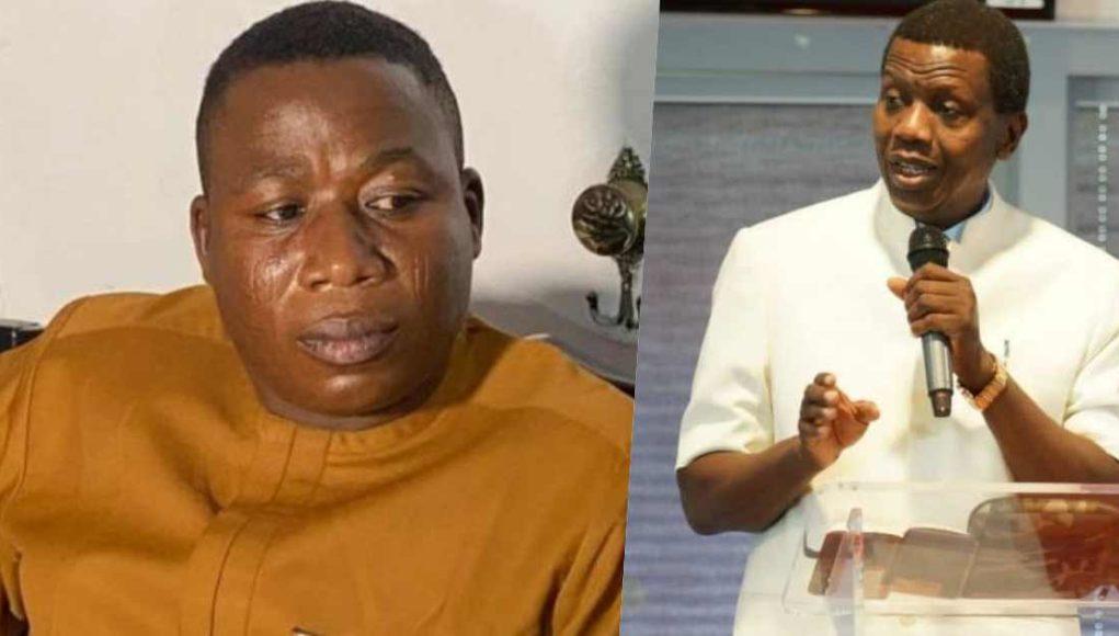Sunday Igboho mocks Pastor Adeboye following son's death, rains curses on him (Video)