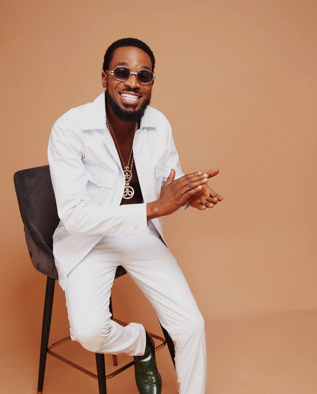 """""""I am born again"""" - Dbanj says as he attends a church event in Abuja with his wife (Video)"""