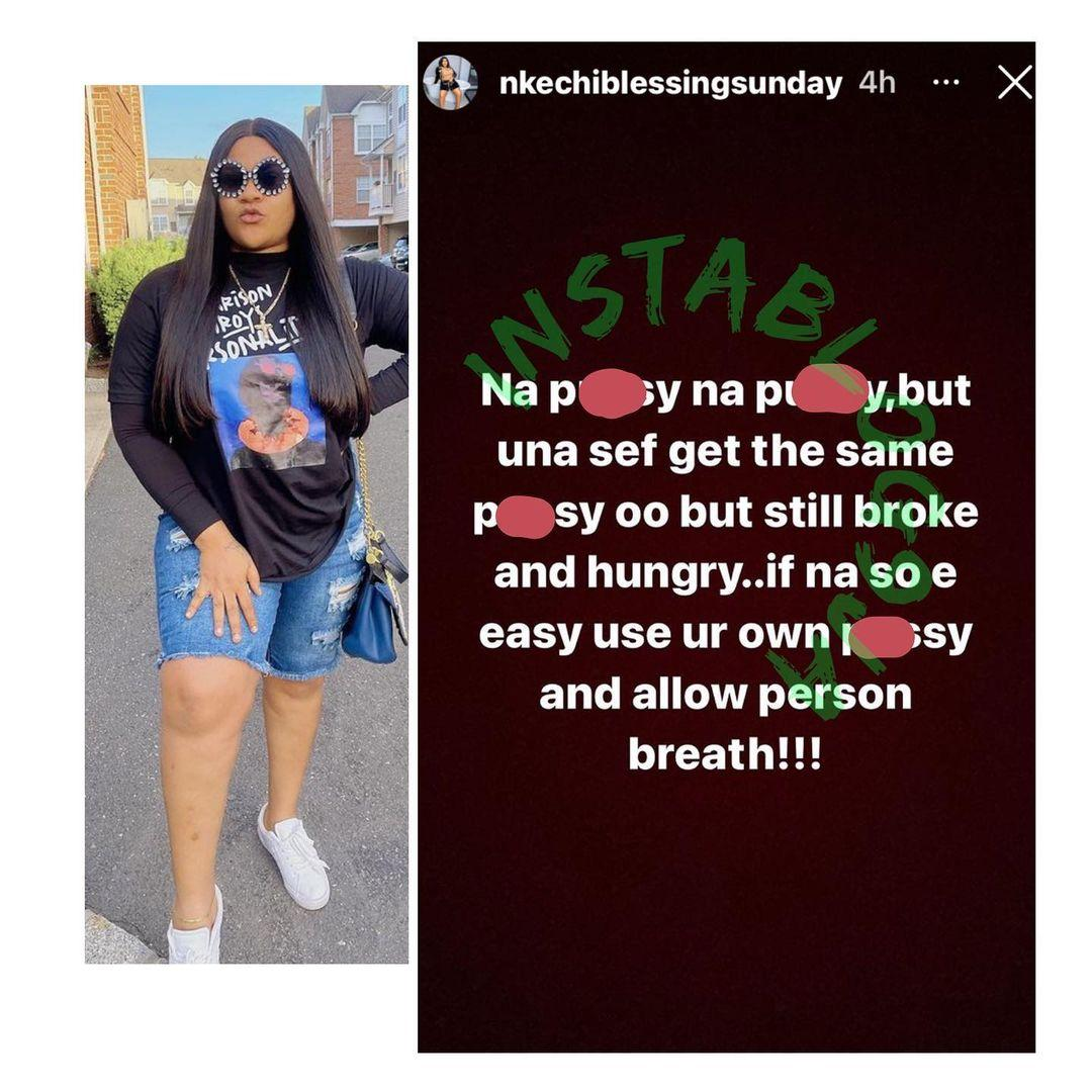 """""""If it's easy, do your own"""" - Nkechi Blessing blows hot, slam those criticising 'Runs Girls'"""