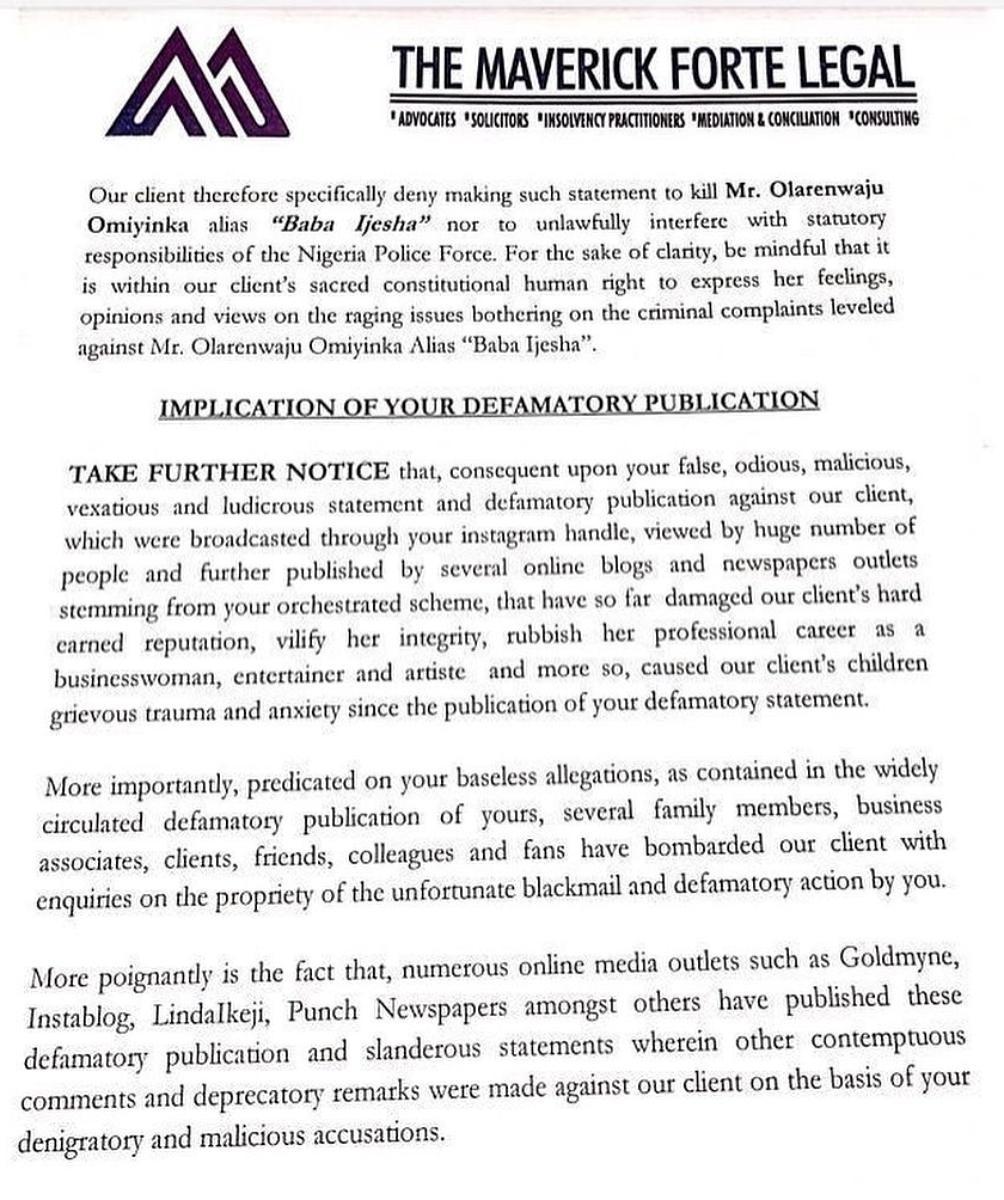 Baba Ijesha rqpe case: Iyabo Ojo drags Yomi Fabiyi to court, demands 100M damages fee