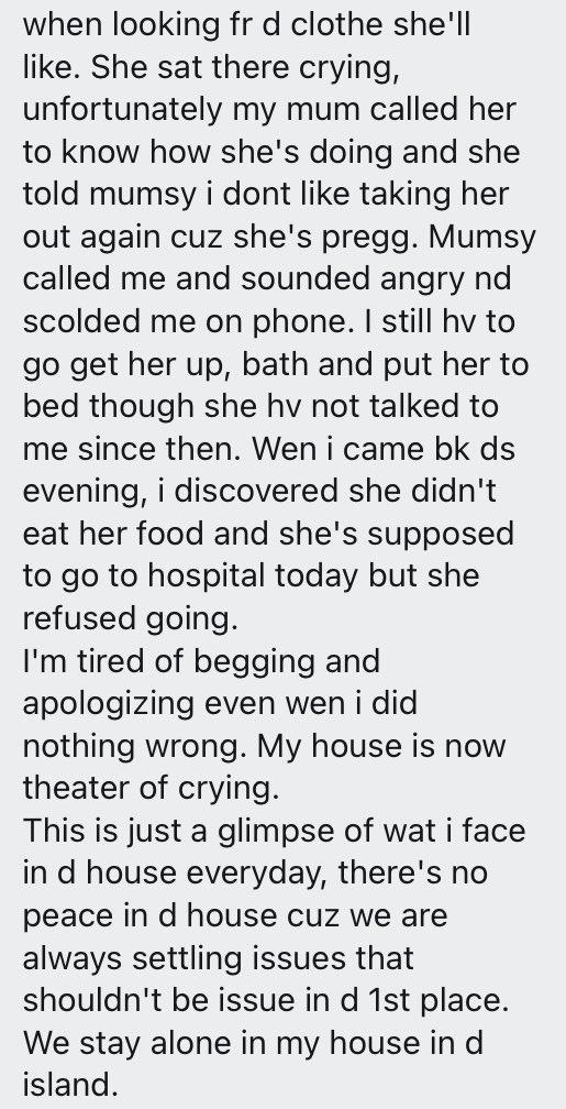 """""""My good wife drastically turned troublesome after she got pregnant"""" - Man laments"""