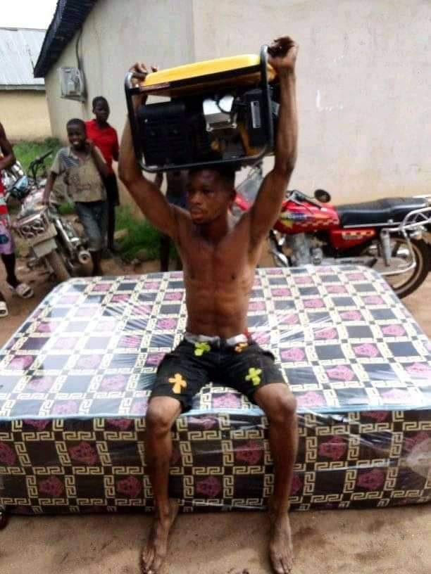 man generator stealing mattress
