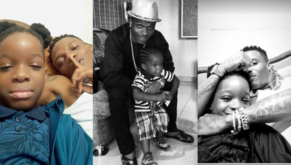Wizkid Boluwatife Birthday 10th First son