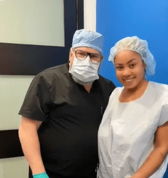 Nina Ivy cosmetic surgery