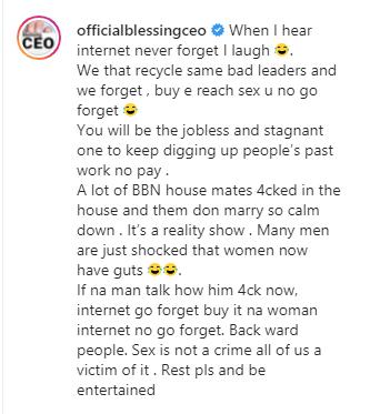 Blessing okoro orezi internet