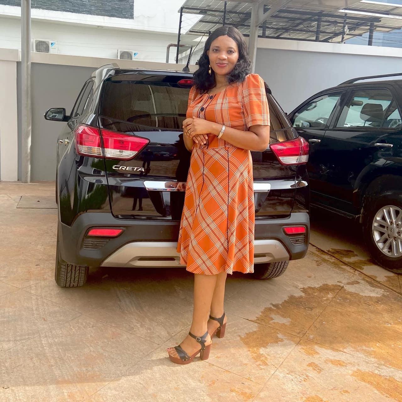 Adaobi Okorie Facebook Car Husband Birthday Gift