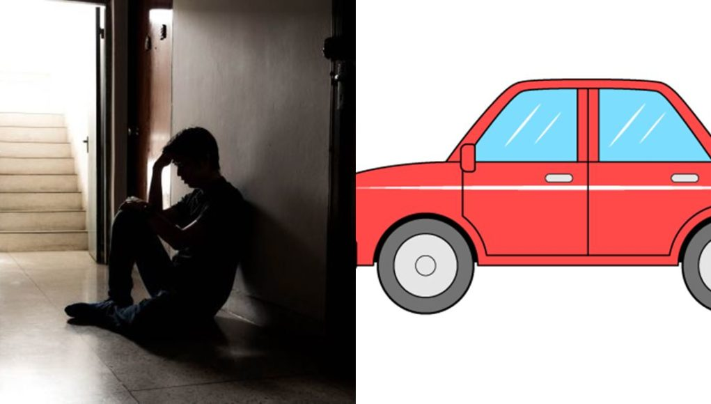 Man threatens to descend heavily on wife over refusal to register her car in his name