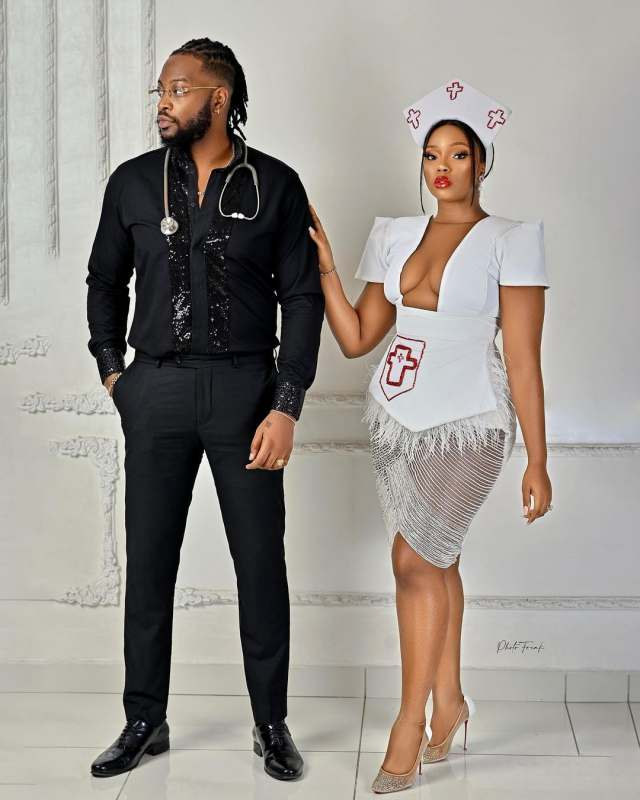 """""""I will always choose you"""" - Bambam eulogizes her husband, Teddy A on his birthday (Video)"""