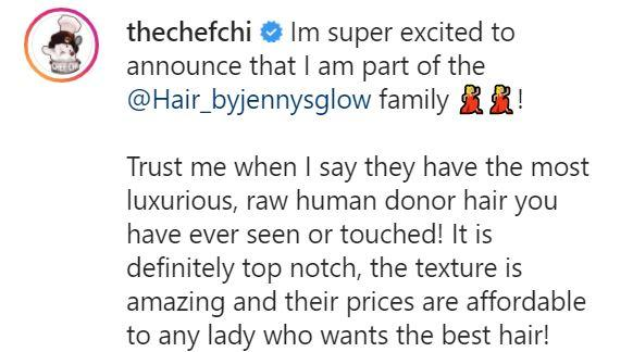 Davido's fiancée, Chioma bags mouth watering deal with a luxury brand
