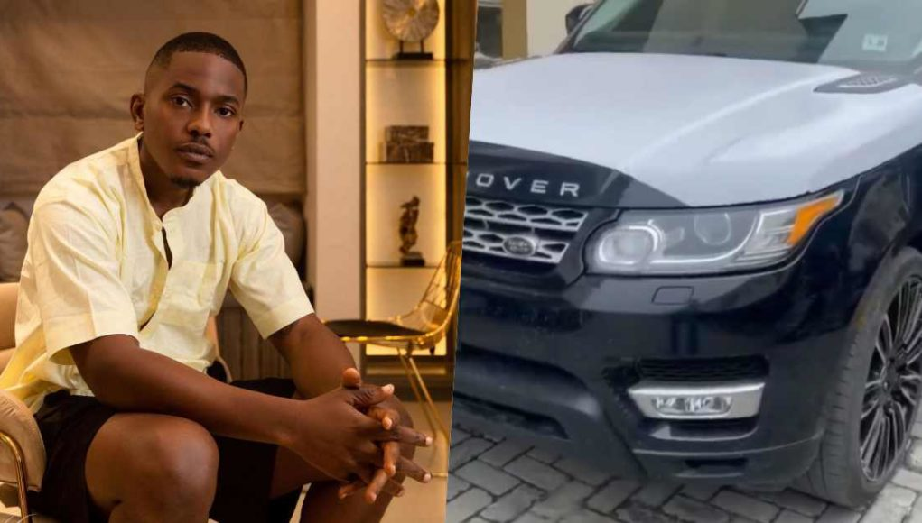 Actor, Timini Egbuson gifts himself a brand new Range Rover SUV in celebration of 34th birthday (Video)