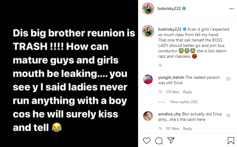 """""""Classless boss lady, still had guts to call Praise 5 seconds man"""" - Bobrisky drags Ka3na to filth"""