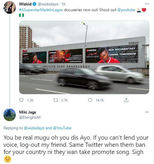 Wizkid under fire for promoting MIL series amid protest despite calling Reekado Banks 'animal' once