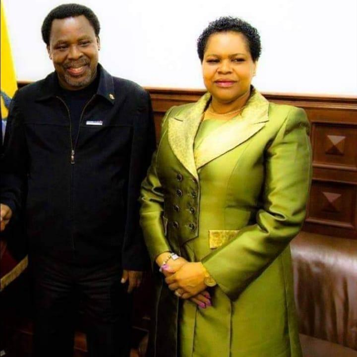 """""""Only God can comfort us"""" - TB Joshua's wife, Evelyn Joshua finally breaks silence"""