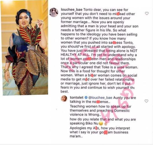 Tonto Dikeh mislead women