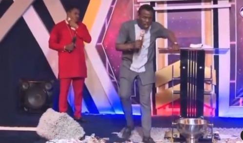pastor angels bribe