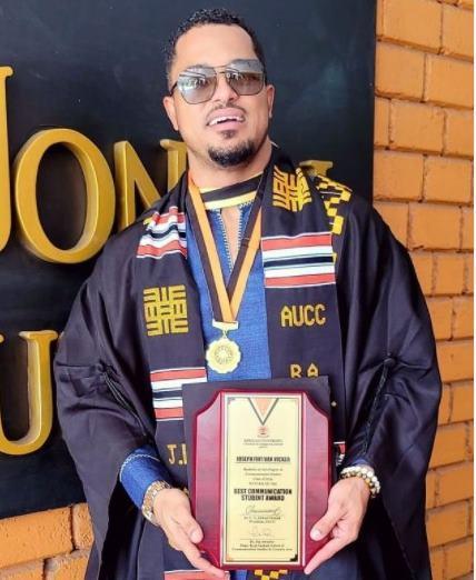Van Vicker graduates first-class