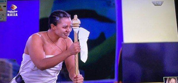 #BBNaija: Biggie applauds Liquorose over performance during first house task (Video)