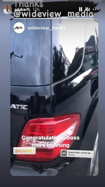 Ada Karl New Car