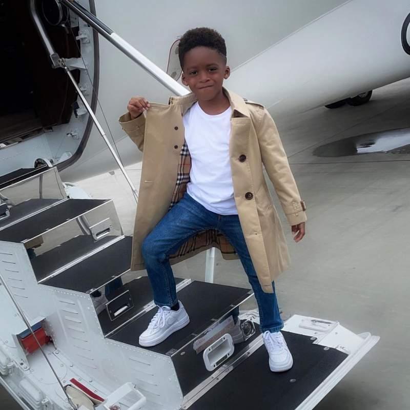 Tiwa Savage celebrates son's 6th birthday with throwback video