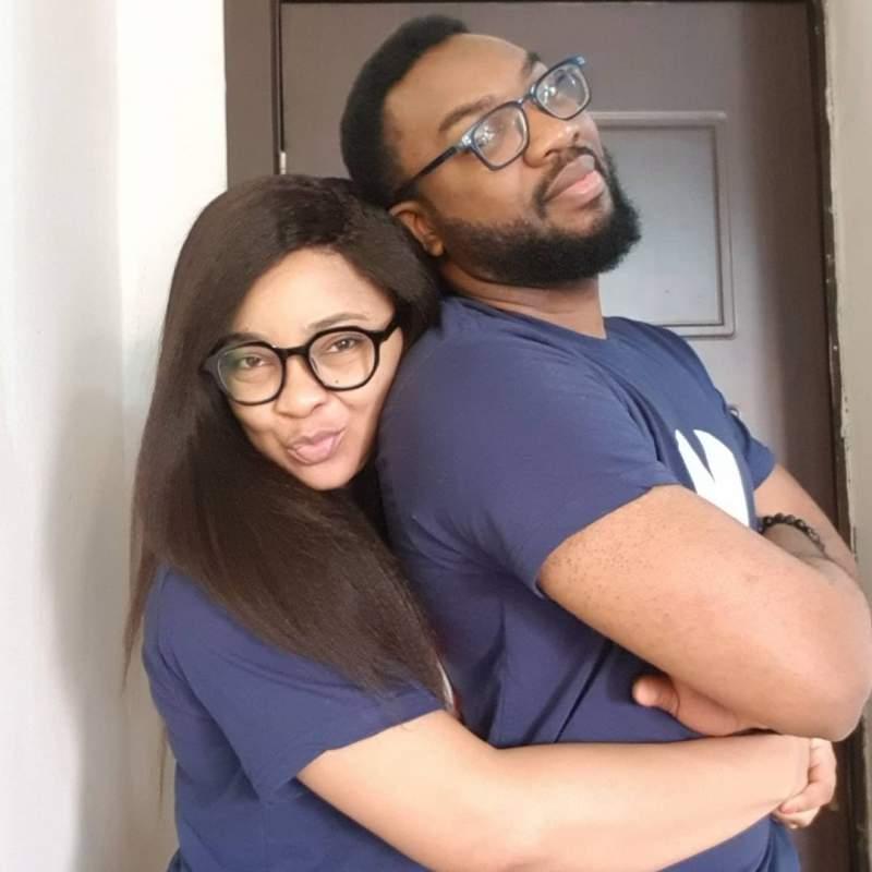 Linda Ejiofor and husband, Ibrahim Suleiman