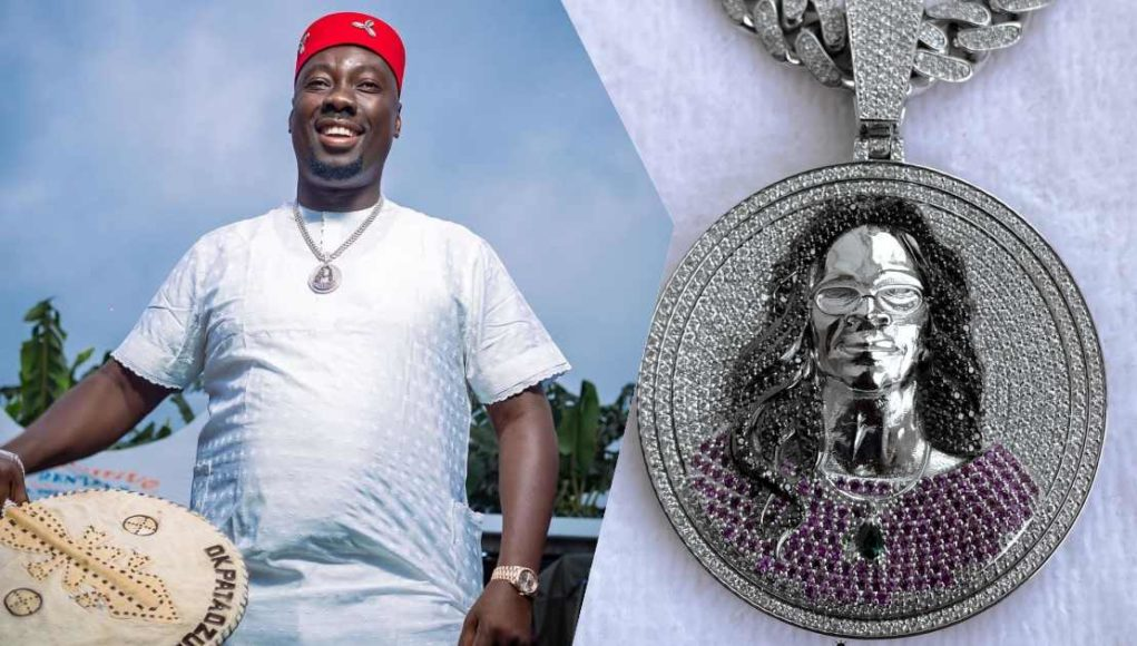Obi Cubana acquires customized diamond pendant worth N50M in honor of late mother