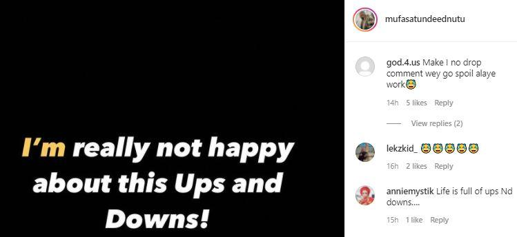 """""""I'm really not happy about this ups and downs"""" - Tunde Ednut breaks down following IG suspension"""