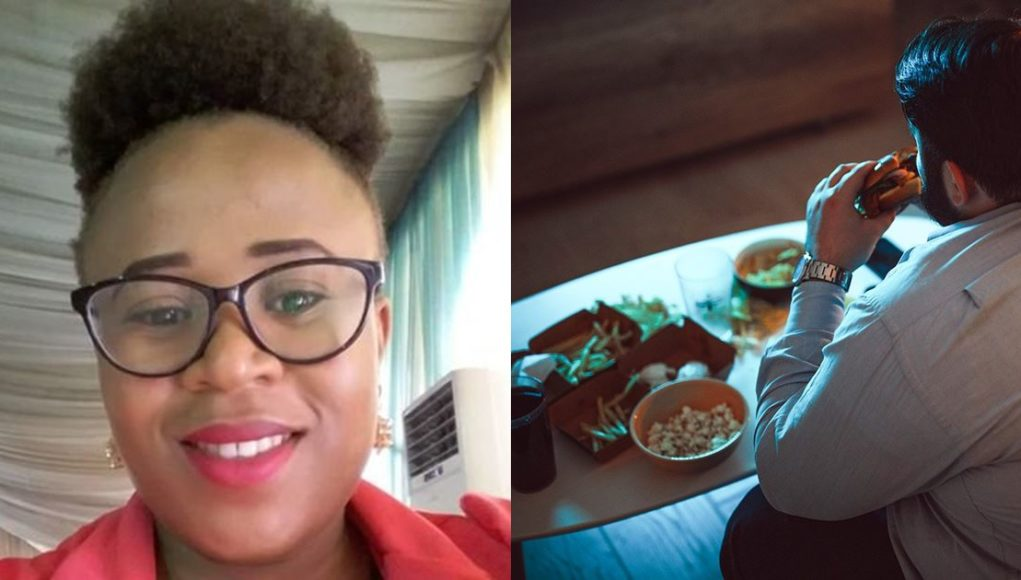 Lady narrates her experience with a 'hungry' man
