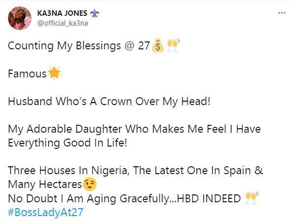Ka3na Blessings 27 Counts