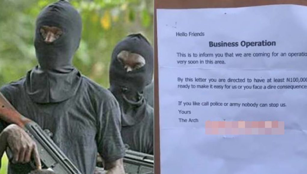 Fear grip residents of Mpape Abuja as robbers allegedly informs them about an upcoming attack (Video)