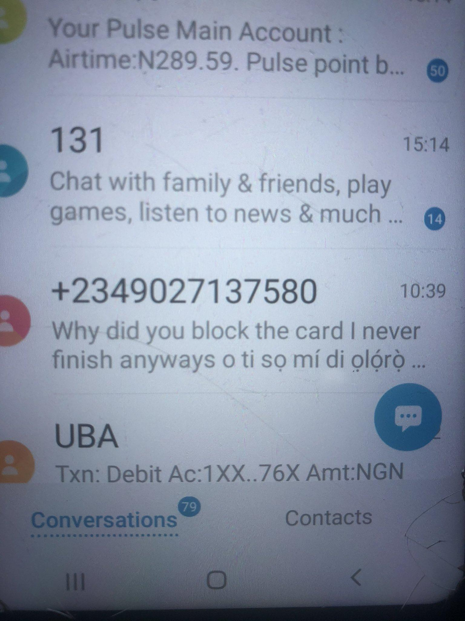 Lady cries out after her dad got a message from the individual who defrauded him bragging about the treacherous act