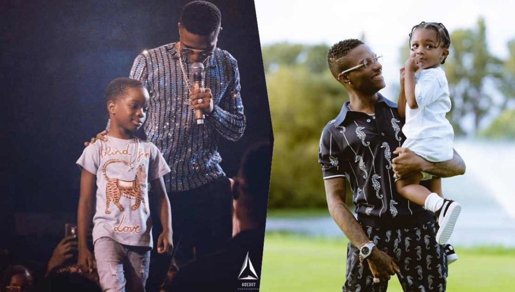 Wizkid's sons, Boluwatife and Zion celebrate father on his 31st birthday
