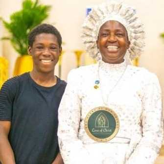 Ayomide and Reverend Esther Ajayi