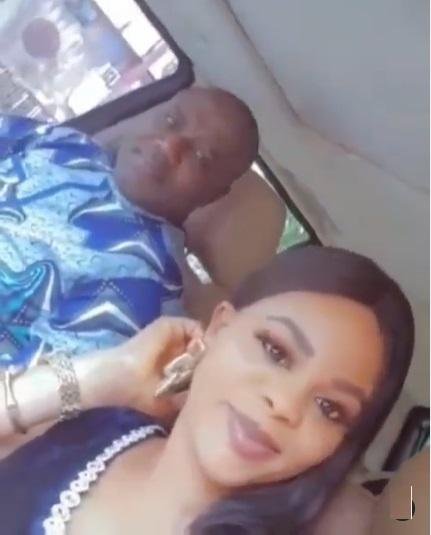 Mercy Aigbe's husband, Lanre Gentry finally unveils face of new lover (Video)
